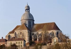 Provins (Seine-et-Marne, France) : collegiale Saint-Quiriace