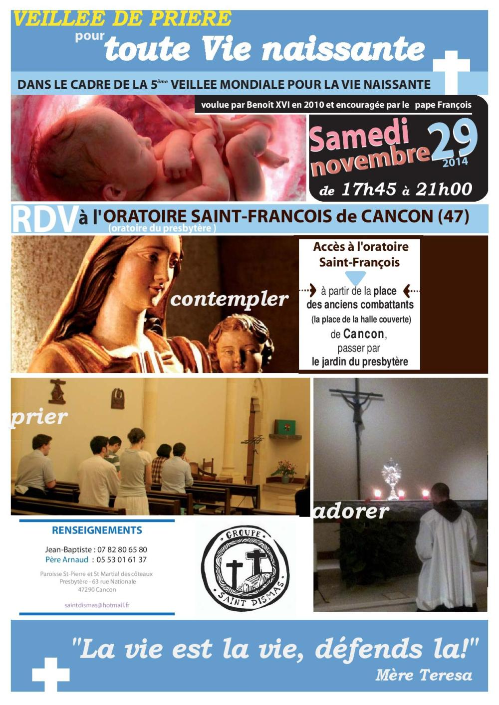 Veillée pour la Vie Naissante 2014 - Cancon-page-001