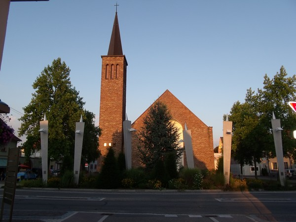 Eglise St Georges, à Marckolsheim