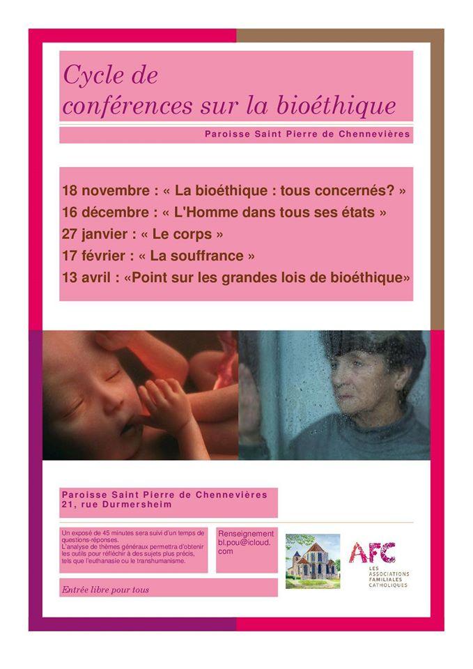 Conférence en bioéthique