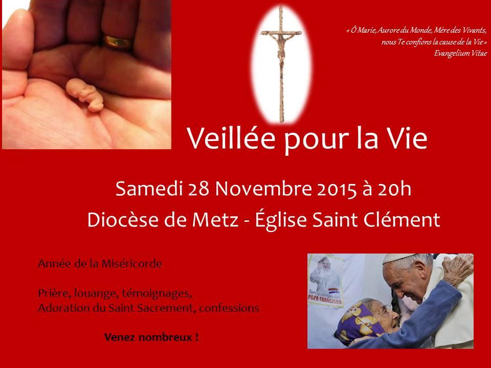 Veillée pour la Vie St Clément