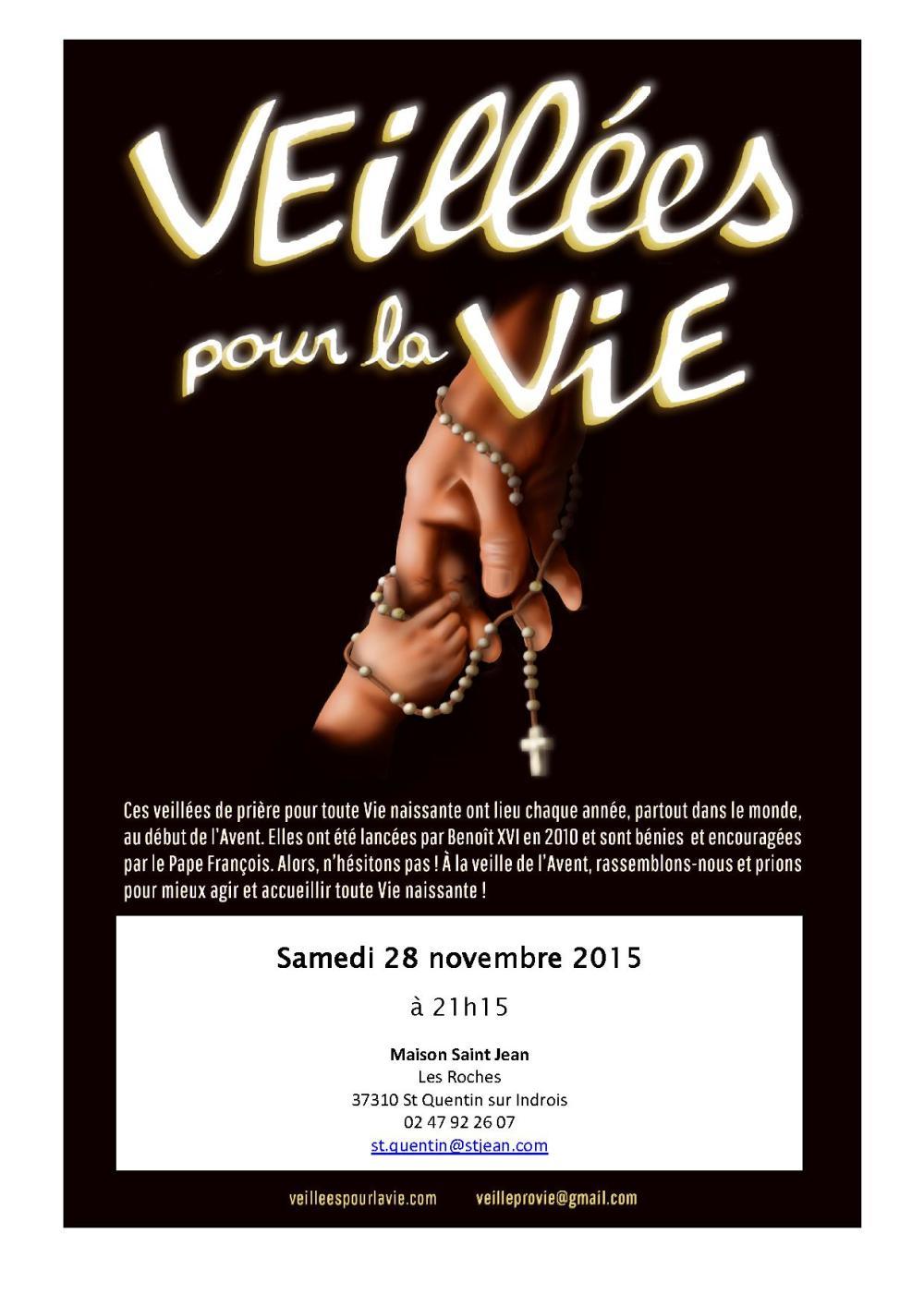Affiche veillée 28-11-2015