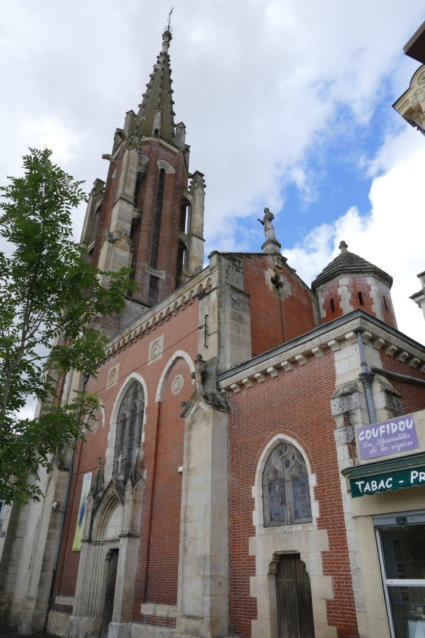 Sainte-Foy's church in Agen (Lot-et-Garonne, Aquitaine, France).